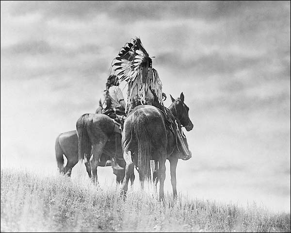 Cheyenne Indian Warriors- Edward S. Curtis