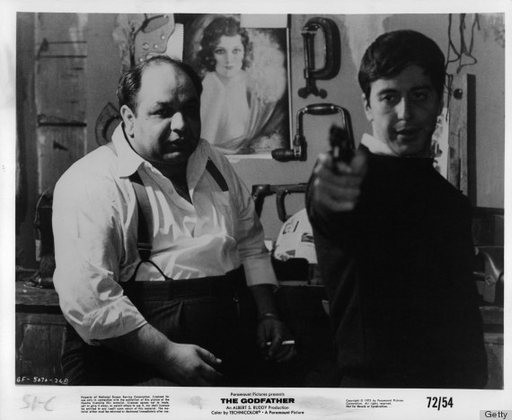 Richard S Castellano And Al Pacino In 'The Godfather'