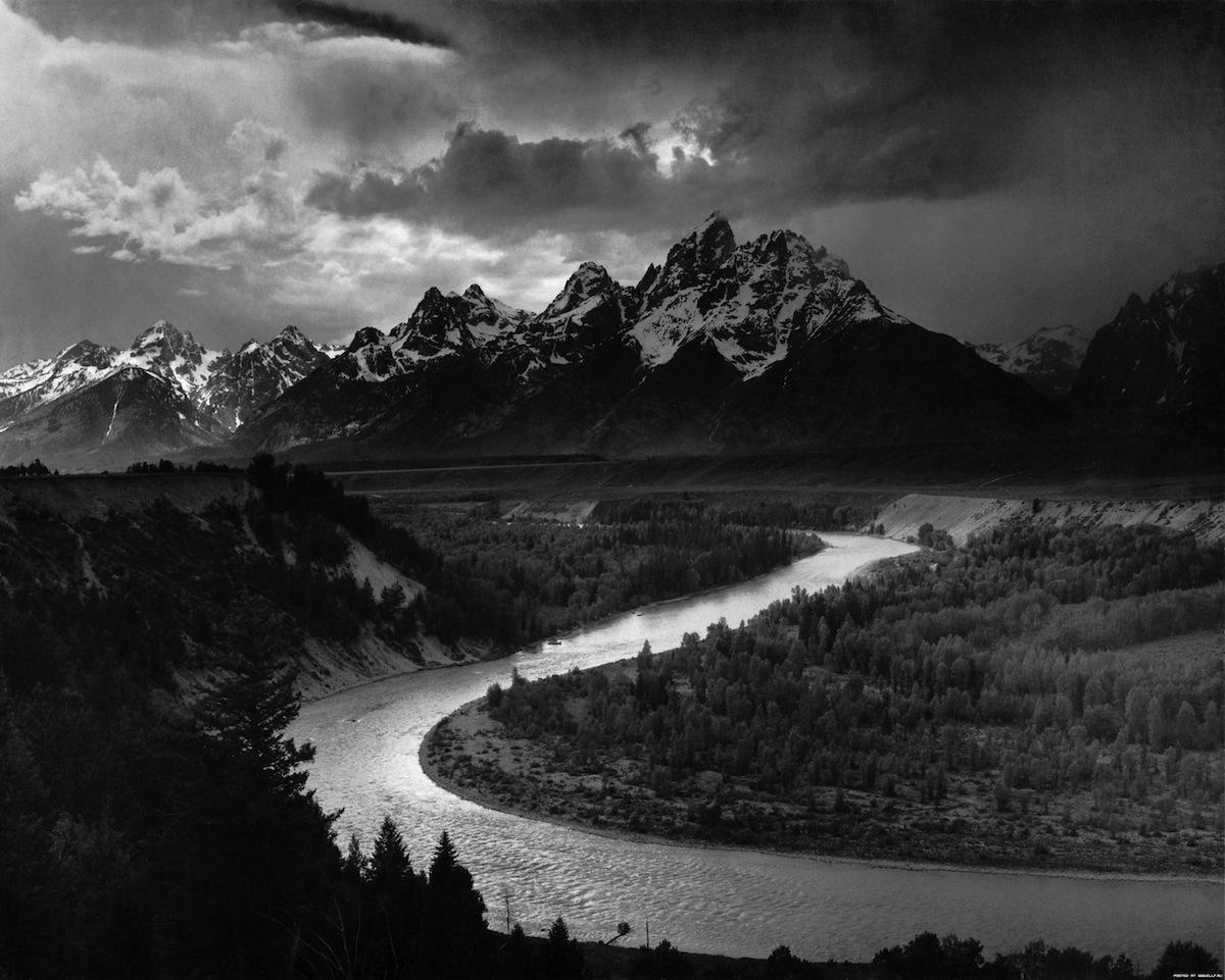 طبیعت از نگاه انسل آدامز