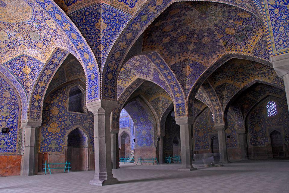 شبستان شرقی مسجد امام
