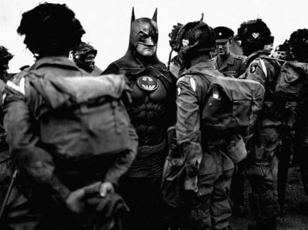 چتربازان در حال اعزام به جبهه، 1944