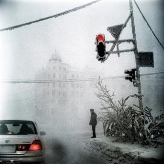 Russia, Siberia, Yakutsk, January 2013In the coldest city in the world.Russie, Sibérie, Iakoutsk, janvier 2013Dans la ville la plus froide du monde.Steeve Iuncker / Agence VU
