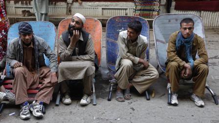 دندان درد کارگر افغانی