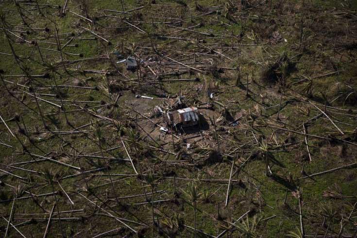 ویرانه های فیلیپین پس از طوفان هایان