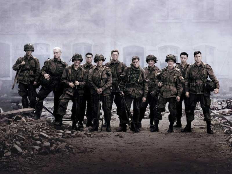 مینی سریال Band Of Brothers؛ قصه مردان مرد.