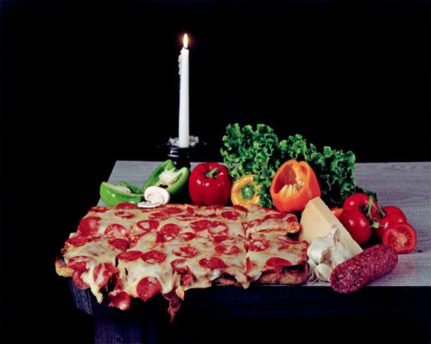 نمايشگاه هنر پيتزا در شهر نیویورک