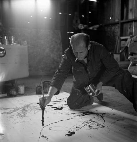 جکسون پولاک: عکسهایی از نقاش کنش در مسیر اوج