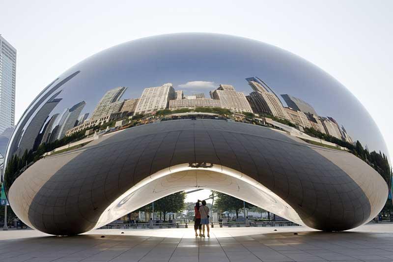بوستان هزاره در شیکاگو، ترکیب هنر، انسان و طبیعت ـ بخش دوم