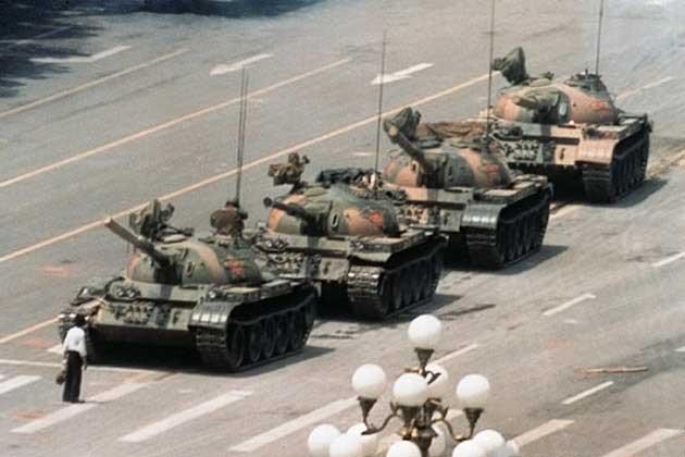٢٥ سال پس از مردی علیه تانک: در پس عکس نمادین میدان تیان آن من