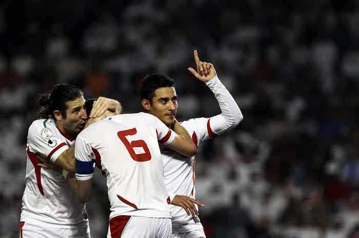 و بالاخره این تیم ملی ایران است در جام جهانی فوتبال