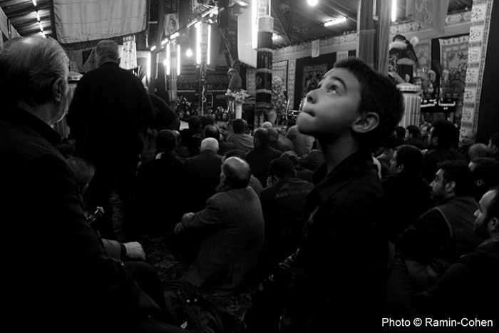 کودک و تعزیه در هیئت شوفرهای تهران