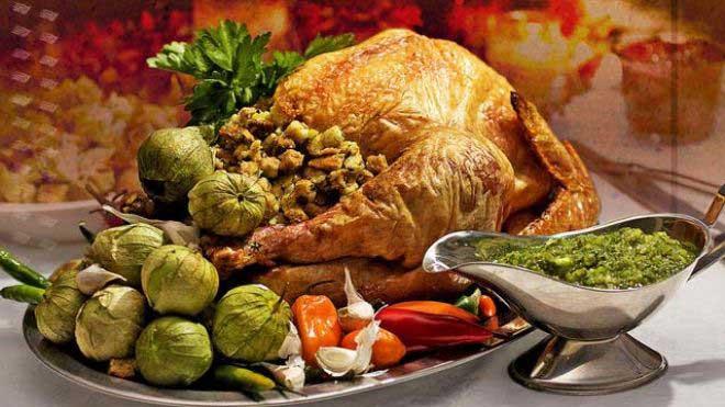 منویِ غذایِ اولین عید شکرگذاری (Thanksgiving ) چه بود؟