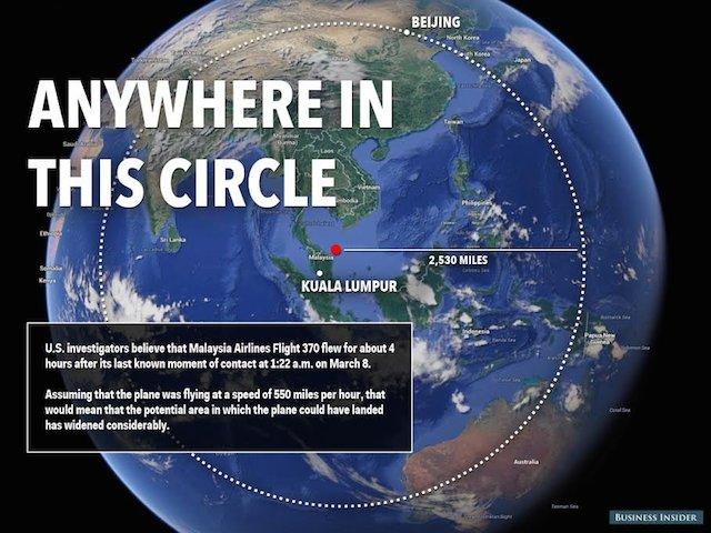 چرا هنوز تکنولوژی لازم برای پیدا کردن هواپیماهای گمشده را نداریم