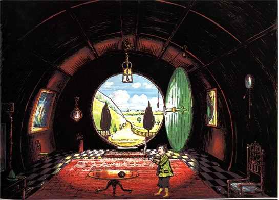 قهرمان یک هابیت است، نقد آدن بر جلد اول ارباب حلقه ها