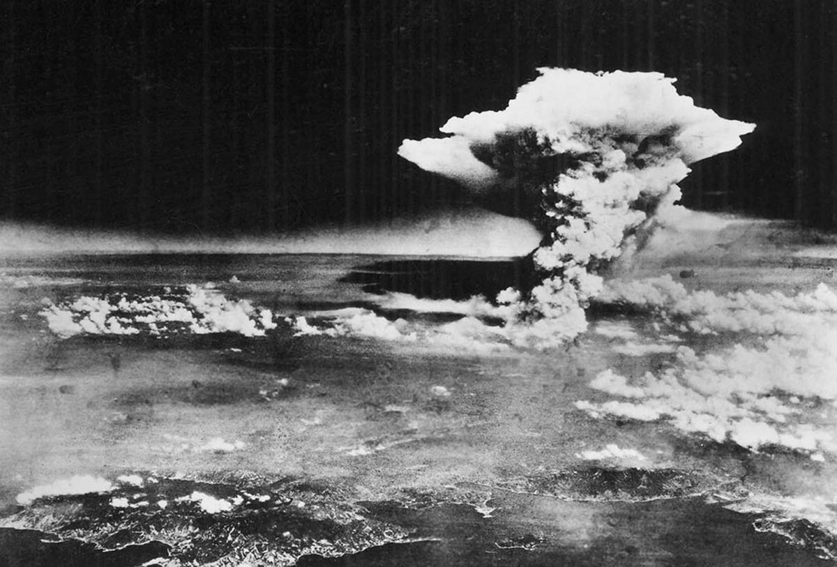 هیروشیما، قبل و بعد از بمباران اتمی