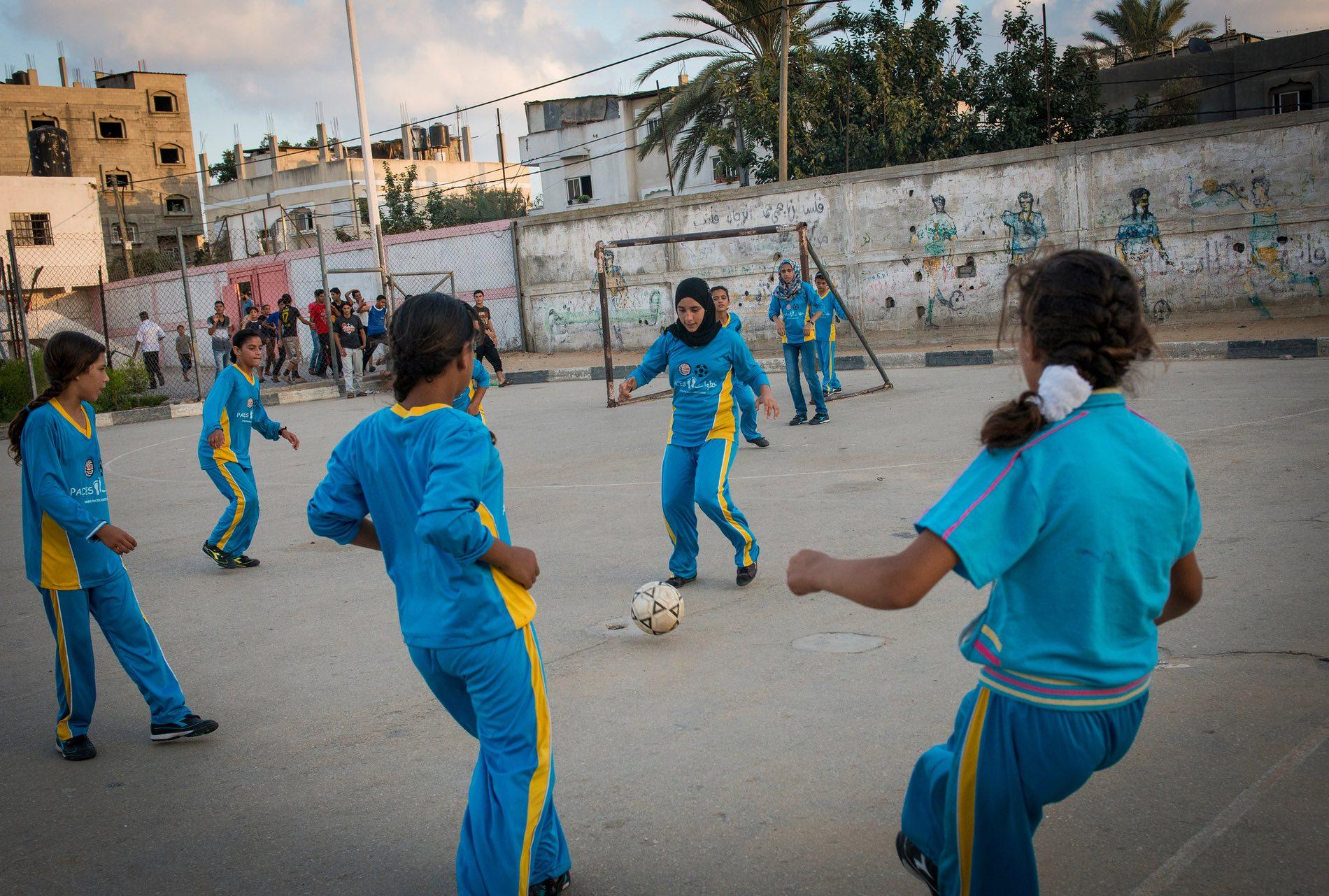 دختران فلسطین : بزرگ شدن در نوار غزه